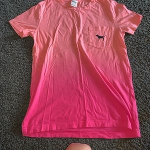 PINK shirt size xs ombre
